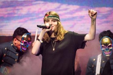 TORONTO, ON - AUGUST 26: Bulow performs at iHeartRadio MMVAs in Toronto, Ontario on August 26, 2018. (Photo: Angelo Marchini/Aesthetic Magazine)