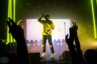 TORONTO, ON - AUGUST 06: Post Malone performs at The Mod Club in Toronto on August 06, 2018. (Photo: Morgan Hotston/Aesthetic Magazine)
