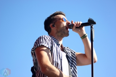 ORO-MEDONTE, ON - AUGUST 10: Russell Dickerson performs at Boots And Hearts Music Festival at Burl's Creek in Oro-Medonte, ON on August 10, 2018. (Photo: Curtis Sindrey/Aesthetic Magazine)
