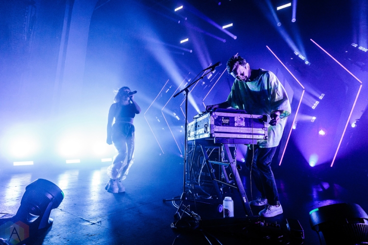 TORONTO, ON - JULY 31: Sylvan Esso performs at Danforth Music Hall in Toronto on July 31, 2018. (Photo: David McDonald/Aesthetic Magazine)