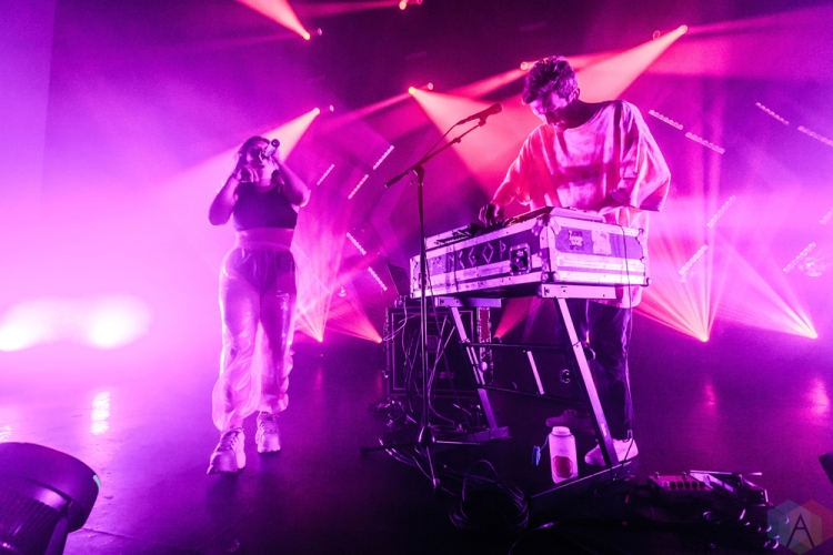 TORONTO, ON - JULY 31: Sylvan Esso performs at Danforth Music Hall in Toronto on July 31, 2018. (Photo: David McDonald/Aesthetic Magazine)