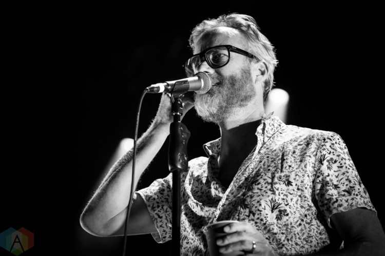 TORONTO, ON - AUGUST 04: The National performs at Fort York in Toronto on August 04, 2018. (Photo: Brendan Albert/Aesthetic Magazine)
