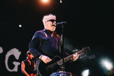 TORONTO, ON - AUGUST 28: The Offspring performs at Budweiser Stage in Toronto, Ontario on August 28, 2018. (Photo: Stephan Ordonez/Aesthetic Magazine)