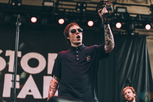 BERKELEY, CA - The Story So Far performs at Greek Theatre in Berkeley, California on August 09, 2018. (Photo: Kyle Simmons/Aesthetic Magazine)