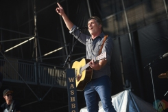 ORO-MEDONTE, ON - AUGUST 12: The Washboard Union performs at Boots And Hearts Music Festival at Burl's Creek in Oro-Medonte, ON on August 12, 2018. (Photo: Morgan Harris/Aesthetic Magazine)
