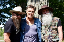 ORO-MEDONTE, ON - AUGUST 12: The Washboard Union poses for a portrait at Boots And Hearts Music Festival at Burl's Creek in Oro-Medonte, ON on August 12, 2018. (Photo: Curtis Sindrey/Aesthetic Magazine)
