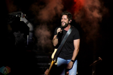 ORO-MEDONTE, ON - AUGUST 12: Thomas Rhett performs at Boots And Hearts Music Festival at Burl's Creek in Oro-Medonte, ON on August 12, 2018. (Photo: Curtis Sindrey/Aesthetic Magazine)