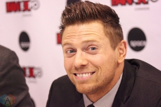 TORONTO, ON - AUGUST 30: WWE superstar The Miz attends Fan Expo at Metro Toronto Convention Centre in Toronto, Ontario on August 30, 2018. (Photo: Curtis Sindrey/Aesthetic Magazine)
