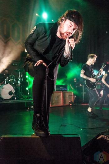 TORONTO, ON - SEPTEMBER 15: Beartooth performs at Danforth Music Hall in Toronto on September 15, 2018. (Photo: David McDonald/Aesthetic Magazine)