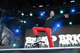 SEATTLE, WA – SEPTEMBER 02: Bishop Briggs performs at Bumbershoot Music Festival in Seattle, Washington on September 02, 2018. (Photo: Matt Harding/Aesthetic Magazine)
