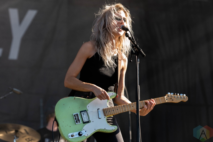 CHICAGO, IL - SEPTEMBER 15: Bully performs at Riot Fest at Douglas Park in Chicago on September 15, 2018. (Photo: Katie Kuropas/Aesthetic Magazine)