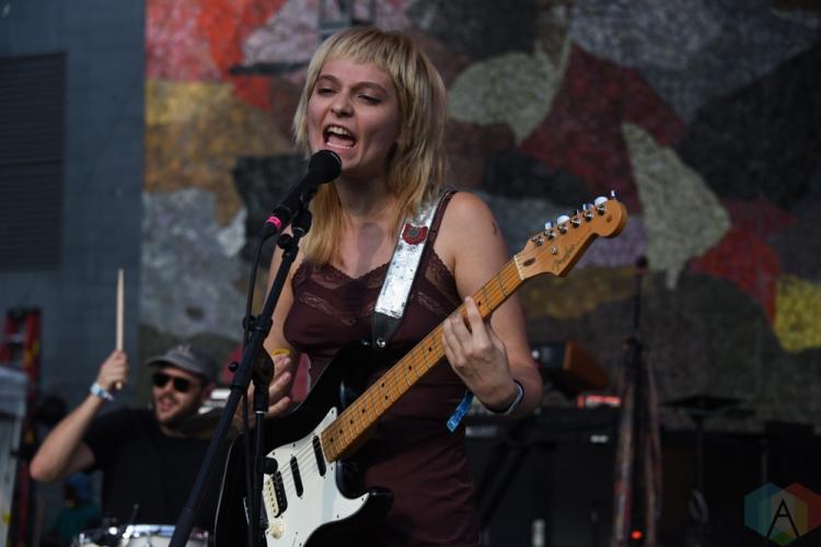 SEATTLE, WA – SEPTEMBER 01: Cherry Glazerr performs at Bumbershoot Music Festival in Seattle, Washington on September 01, 2018. (Photo: Matt Harding/Aesthetic Magazine)