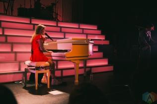TORONTO, ON - SEPTEMBER 20: Coeur de Pirate performs at Danforth Music Hall in Toronto on September 20, 2018. (Photo: Sarah McNeil/Aesthetic Magazine)