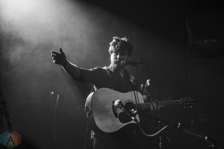 TORONTO, ON - SEPTEMBER 19: Eamon McGrath performs at Mod Club in Toronto on September 19, 2018. (Photo: Kirsten Sonntag/Aesthetic Magazine)