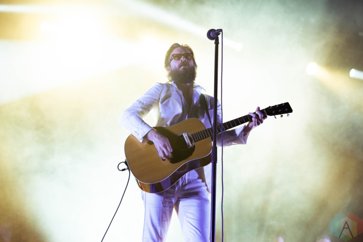 CHICAGO, IL - SEPTEMBER 16: Father John Misty performs at Riot Fest at Douglas Park in Chicago on September 16, 2018. (Photo: Katie Kuropas/Aesthetic Magazine)