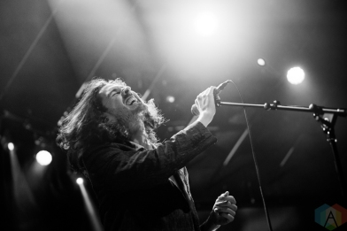 TORONTO, ON - SEPTEMBER 19: Hozier performs at Rebel in Toronto on September 19, 2018. (Photo: Brandon Newfield/Aesthetic Magazine)