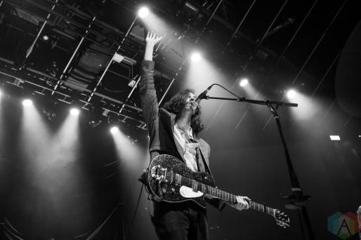 TORONTO, ON - SEPTEMBER 19: Hozier performs at Rebel in Toronto on September 19, 2018. (Photo: Brandon Newfield/Aesthetic Magazine)