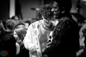 TORONTO, ON - SEPTEMBER 17: Hubert Lenoir performs at Polaris Prize gala at the Carlu in Toronto, Ontario on September 17, 2018. (Photo: Brendan Albert/Aesthetic Magazine)