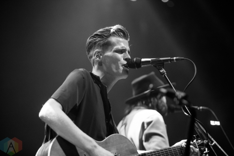 TORONTO, ON - SEPTEMBER 19: Hudson Taylor performs at Rebel in Toronto on September 19, 2018. (Photo: Brandon Newfield/Aesthetic Magazine)