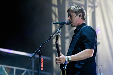 CHICAGO, IL - SEPTEMBER 15: Interpol performs at Riot Fest at Douglas Park in Chicago on September 15, 2018. (Photo: Katie Kuropas/Aesthetic Magazine)