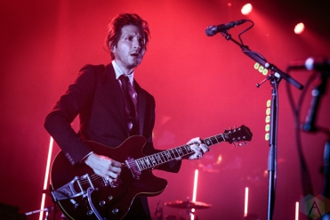 TORONTO, ON - SEPTEMBER 13: Interpol performs at Rebel in Toronto, Ontario on September 13, 2018. (Photo: David McDonald/Aesthetic Magazine)