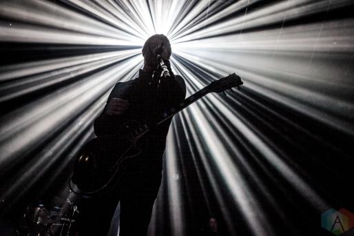 TORONTO, ON - SEPTEMBER 13: Interpol performs at Rebel in Toronto, Ontario on September 13, 2018. (Photo: David McDonald/Aesthetic Magazine)