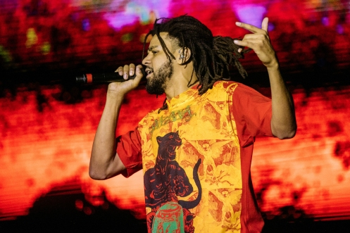 SEATTLE, WA – SEPTEMBER 01: J Cole performs at Bumbershoot Music Festival in Seattle, Washington on September 01, 2018. (Photo: Bumbershoot)
