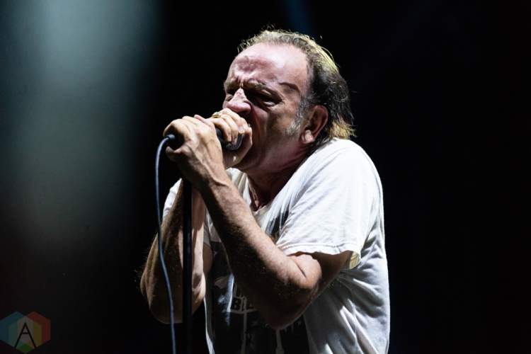 CHICAGO, IL - SEPTEMBER 15: The Jesus Lizard performs at Riot Fest at Douglas Park in Chicago on September 15, 2018. (Photo: Katie Kuropas/Aesthetic Magazine)