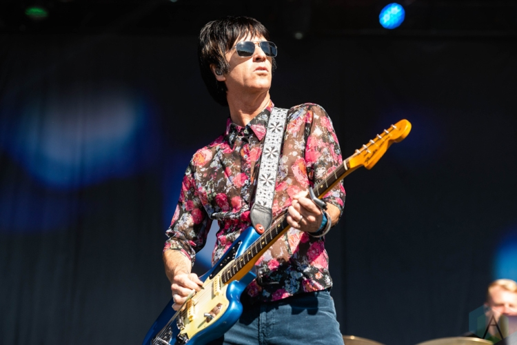 CHICAGO, IL - SEPTEMBER 16: Johnny Marr performs at Riot Fest at Douglas Park in Chicago on September 16, 2018. (Photo: Katie Kuropas/Aesthetic Magazine)