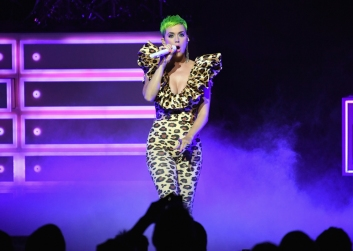 LOS ANGELES, CA - SEPTEMBER 10: Katy Perry performs for Citi Sound Vault at The Theatre at Ace Hotel on September 10, 2018 in Los Angeles, California. (Photo: Neilson Barnard/Getty)