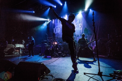 TORONTO, ON - SEPTEMBER 15: Knocked Loose performs at Danforth Music Hall in Toronto on September 15, 2018. (Photo: David McDonald/Aesthetic Magazine)