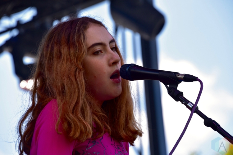 SEATTLE, WA - AUGUST 31: Let's Eat Grandma performs at Bumbershoot Music Festival in Seattle, Washington on August 31, 2018. (Photo: Matt Harding/Aesthetic Magazine)