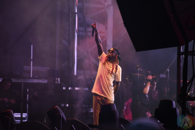 SEATTLE, WA - AUGUST 31: Lil Wayne performs at Bumbershoot Music Festival in Seattle, Washington on August 31, 2018. (Photo: Matt Harding/Aesthetic Magazine)