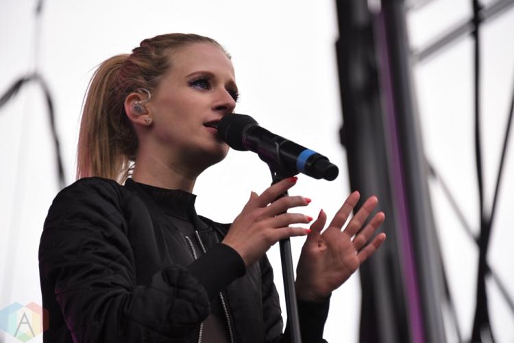 SEATTLE, WA – SEPTEMBER 01: Marian Hill performs at Bumbershoot Music Festival in Seattle, Washington on September 01, 2018. (Photo: Matt Harding/Aesthetic Magazine)