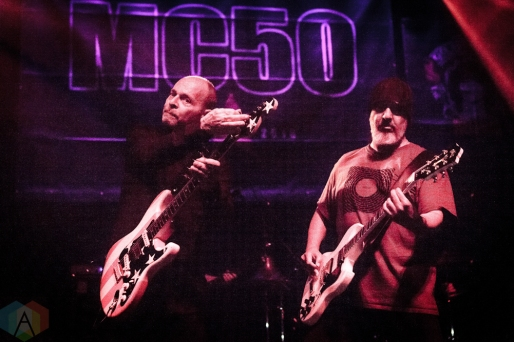 TORONTO, ON - SEPTEMBER 19: MC50 performs at Danforth Music Hall in Toronto, Ontario on September 19, 2018. (Photo: David McDonald/Aesthetic Magazine)