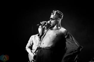 TORONTO, ON - SEPTEMBER 17: Pierre Kwenders performs at Polaris Prize gala at the Carlu in Toronto, Ontario on September 17, 2018. (Photo: Brendan Albert/Aesthetic Magazine)