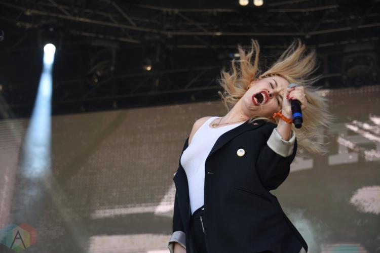 SEATTLE, WA – SEPTEMBER 02: The Pink Slips perform at Bumbershoot Music Festival in Seattle, Washington on September 02, 2018. (Photo: Matt Harding/Aesthetic Magazine)