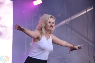 SEATTLE, WA – SEPTEMBER 02: The Pink Slips perform at Bumbershoot Music Festival in Seattle, Washington on September 02, 2018. (Photo: Matt Harding/Aesthetic Magazine)
