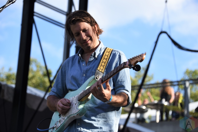 SEATTLE, WA - AUGUST 31: Poolside performs at Bumbershoot Music Festival in Seattle, Washington on August 31, 2018. (Photo: Matt Harding/Aesthetic Magazine)