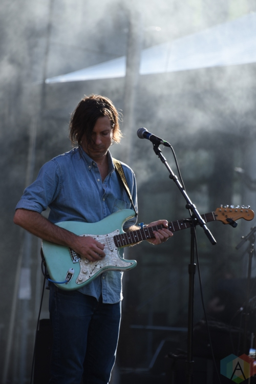 SEATTLE, WA - AUGUST 31: Poolside performs at Bumbershoot Music Festival in Seattle, Washington on August 31, 2018. (Photo: Matt Harding/Aesthetic Magazine)