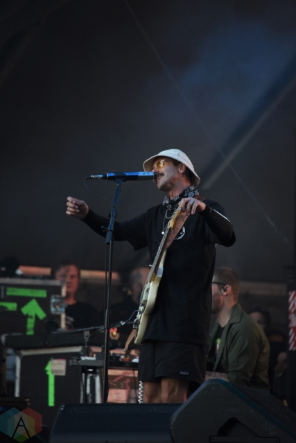 SEATTLE, WA – SEPTEMBER 02: Portugal The Man performs at Bumbershoot Music Festival in Seattle, Washington on September 02, 2018. (Photo: Matt Harding/Aesthetic Magazine)