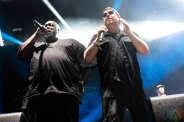 CHICAGO, IL - SEPTEMBER 16: Run The Jewels performs at Riot Fest at Douglas Park in Chicago on September 16, 2018. (Photo: Katie Kuropas/Aesthetic Magazine)