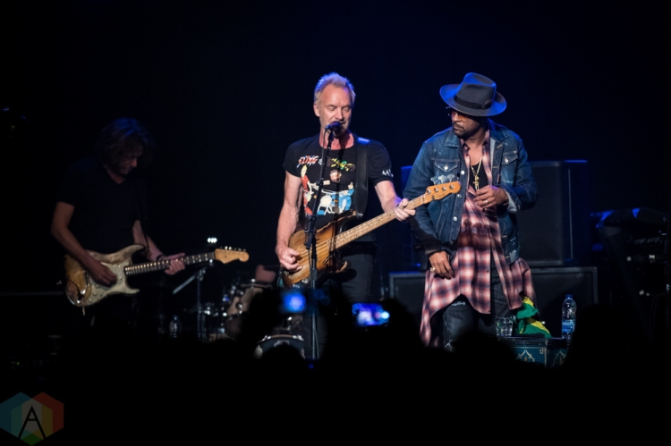 TORONTO, ON - SEPTEMBER 28: Sting & Shaggy perform at Phoenix Concert Theatre in Toronto, Ontario on September 28, 2018. (Photo: Brendan Albert/Aesthetic Magazine)