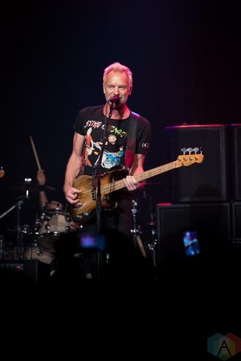 TORONTO, ON - SEPTEMBER 28: Sting & Shaggy perform at Phoenix Concert Theatre in Toronto, Ontario on September 28, 2018. (Photo: Brendan Albert/Aesthetic Magazine)