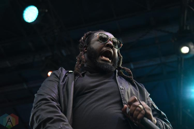 SEATTLE, WA – SEPTEMBER 01: T-Pain performs at Bumbershoot Music Festival in Seattle, Washington on September 01, 2018. (Photo: Matt Harding/Aesthetic Magazine)