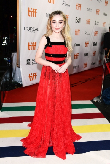 Toronto On September 07 Sabrina Carpenter Attends The The Hate U Give