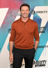 TORONTO, ON - SEPTEMBER 08: Hugh Jackman stops by DIRECTV House presented by AT&T during Toronto International Film Festival 2018 at Momofuku Toronto on September 8, 2018 in Toronto, Canada. (Photo by Charley Gallay/Getty Images for AT&T and DIRECTV )