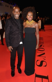 "TORONTO, ON - SEPTEMBER 08: Julius Tennon and Viola Davis attend the ""Widows"" premiere during 2018 Toronto International Film Festival at Roy Thomson Hall on September 8, 2018 in Toronto, Canada. (Photo by Kevin Winter/SHJ2018/Getty Images for TIFF)"
