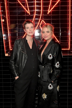 TORONTO, ON - SEPTEMBER 08: Agyness Deyn (L) and Ashley Benson stop by DIRECTV House presented by AT&T during Toronto International Film Festival 2018 at Momofuku Toronto on September 8, 2018 in Toronto, Canada. (Photo by Charley Gallay/Getty Images for AT&T and DIRECTV )