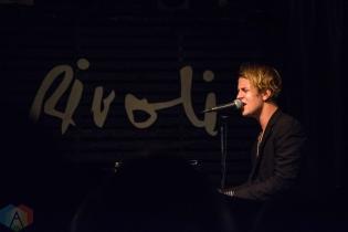 TORONTO, ON - SEPTEMBER 19: Tom Odell performs at Rivoli in Toronto on September 19, 2018. (Photo: Morgan Hotston/Aesthetic Magazine)